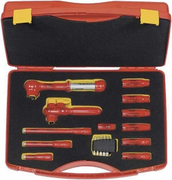 Safety Tool Cases, 1000 V, 13 parts