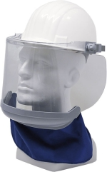 Electrician's Visor with Chin and Neck Protection