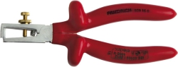 VDE-Stripping Plier, multilayer safety dip-isolated, phthalate-free