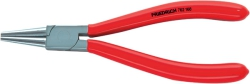 Round Nose Plier, dip-insulated red, phthalate-free, DIN ISO 5745