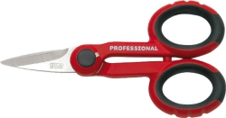 Electrican's Scissors, 2K-Insulation red-black